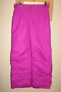 """COLUMBIA Boys/GIRLS Large--- 27""""L insulated Snow/Snowboard Pants"""