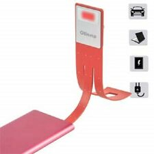 LED Clip Reading Lamp USB Rechargeable Book Light Tough Switch 4 Levels Adjustab