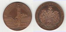 Sohland Spree Oberlausitz Numismatik Medaille 1987 (König) Kirche Architektur /