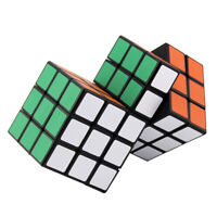 Plastic 13x8x6cm 2 Conjoined Magic Cube Third-order Speed Cube Conjoint Cube