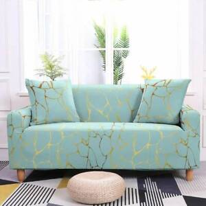 Marble Crack Stretchy Sofa Covers Slipcover Couch Cover Sectional Sofa Protector