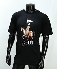 Grizzly Griptape Skateboard Idenpense Logo Mens Black T shirt Size Xlarge