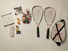 New listing Speedminton S900 Set - Carbon Racquets, Speeders, Speedlight, Carry Case