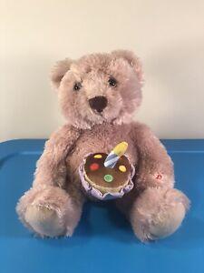 Gund Happy Birthday Teddy Bear Animated Musical Stuffed Plush - SEE VIDEO