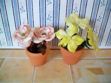 1:12 - Sehr schöne Miniatur - Blumen im Topf (02)