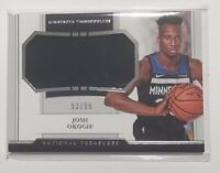 2018-19 Panini National Treasures Rookie Card RC Jumbo Jersey Josh Okogie 93/99