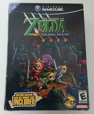 The Legend of Zelda: Four Swords Adventures (Gamecube) Box + Cable NEW & SEALED