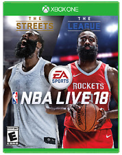 NBA LIVE 18: The One -The Streets & The League Edition (Xbox One) Factory Sealed