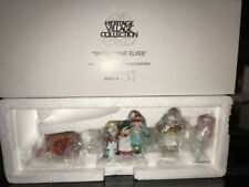 "Dept 56 Heritage Village ""Snow Cone Elves "" /New in Box/"