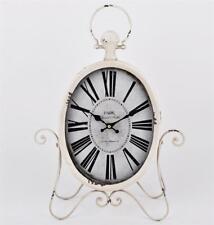Orologi e sveglie da casa in vetro bianco