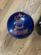 New listing Vtg Scooby-Doo Bowling Ball 8.7 lbs Cartoon Network Deep Blue Space 2000 W/bag