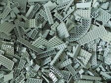 Lego 1/4 lb of Gray Pieces Bricks Plates Specialty Nice Mix Color/Size