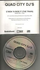 QUAD CITY DJ's C'mon 'n Ride it the train RADIO MIX PROMO DJ CD Single 1996 USA