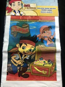 Jake and the Never Land Pirates  Party Favor Bags Loot Treat Party Supply 25CT