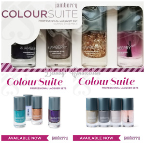Jamberry Color Suite 4pc Professional Nail Lacquer Polish Box Set CHOOSE + GIFT