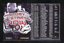 Chicago Fire--2004 Magnet Schedule--Comcast--MLS