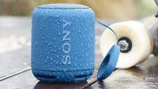 Sony SRS-XB10 Tragbarer Kabelloser Bluetooth NFC Lautsprecher Blau -Neu & OVP