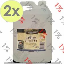 2x Always Fresh White Vinegar - 5 Litre