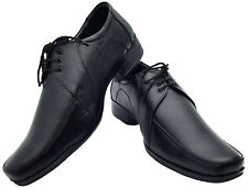 UK SIZE 9 MENS REAL LEATHER LACE UP SHOES WEDDING FORMAL OFFICE DRESS WORK SHOE