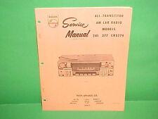 1967 CHRYSLER 300 NEWPORT DODGE POLARA MONACO PHILIPS AM RADIO SERVICE MANUAL