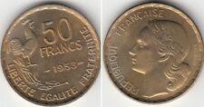 Monnaie Française 50 francs Guiraud 1953