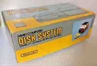 USED Nintendo Famicom Disk System Console System w/RAM & AC Adapter in Box JAPAN
