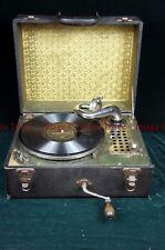 Rare 1920s VIRGINIA REEL brand portable Victrola(?) record player