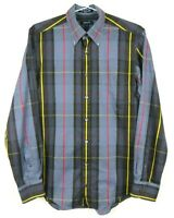 Gant Mens Long Sleeve Button Front Shirt Size M E-Z Fit