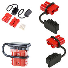 4Pcs Car Battery Quick Connect Disconnect Tool Winch Electrical Wire Harness Kit