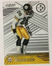 Rod Woodson 2016 Clear Vision #100 Base Steelers Nice!!