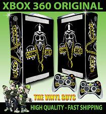 XBOX 360 ORIGINAL DARK SIDE DARTH VADER STAR WARS STICKER SKIN & 2 PAD SKINS