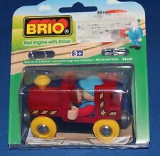 Brio Red Engine with Driver