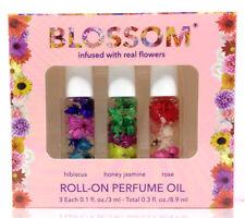 Blue Cross - Blossom - Roll-On Perfume Oil Kit - 3 x 0.1oz