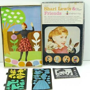 Vintage 1961 Shari Lewis & Her Puppet Friends Colorforms Set complete