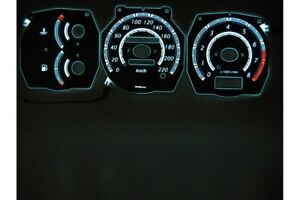 for Nissan Primera P10 glow gauge plasma dials tachoscheibe shift indicators