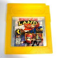 Donkey Kong Land III 3 Nintendo GameBoy Game Tested WORKING Authentic!