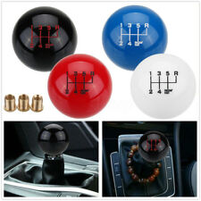 Universal 6 Speed Manual Round Ball Gear Shift Knob Short Throw Shifter M16X1.5