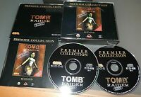 TOMB RAIDER Unfinished business pc game with 4 EXTRA levels & Manual Lg JC VGC