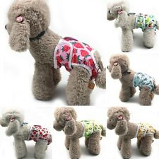 Pet Dog Cartoon Physiological Pants Puppy Sanitary Diapers Breathable Clothes