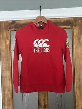 New listing British & Irish Lions Canterbury Rugby Red Hoody Sweatshirt Kids Boys 12-yrs