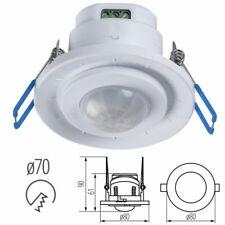 Ceiling Mounted Recessed Adjustable PIR Motion Movement Sensor Detector 240V AC