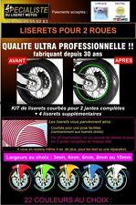LISERET JANTE MOTO pour APRILIA AUTOCOLLANT CINTAS PEGATINAS RIMS 42 colors