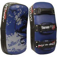 TurnerMAX Boxing Thai Pad Punching Bag Strike Shield Muay Curved Single