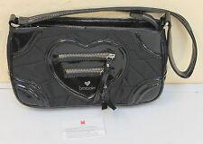 Braccialini ITALY Elegant Little Black Bag Day Evening Shoulder
