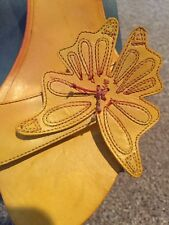 MISS SIXTY leather Butterfly Sandal Size 8.5 Or 39