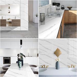 Waterproof Marble Wallpaper Self-adhesive Kitchen Furniture Decro Contact Paper