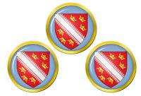 Alsace (France) Marqueurs de Balles de Golf