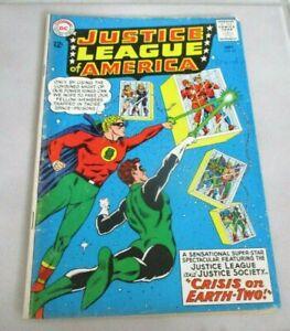 Justice League of America #22 Ungraded DC Comic Book 1963