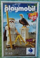 PLAYMOBIL 9149 HISTORY le dieu zeus grèce PLAY & GIVE athéna