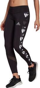 adidas Own The Run Celebration Womens Long Running Tights - Black